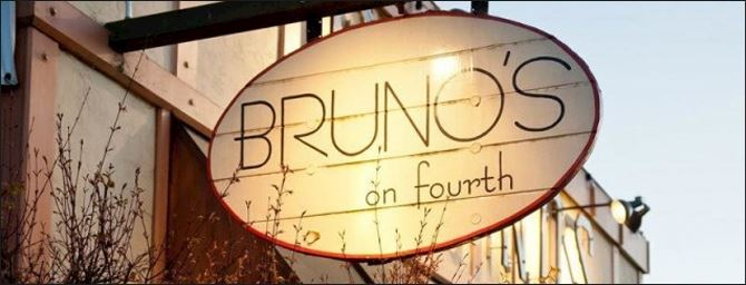 Bruno's On 4th Signage