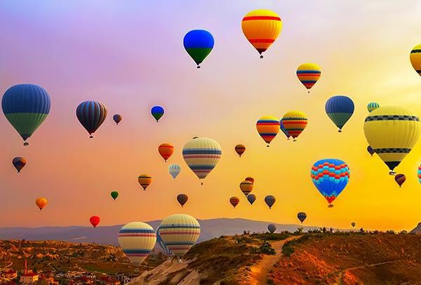 Hot Air Balloon Rides at SantaRosa California