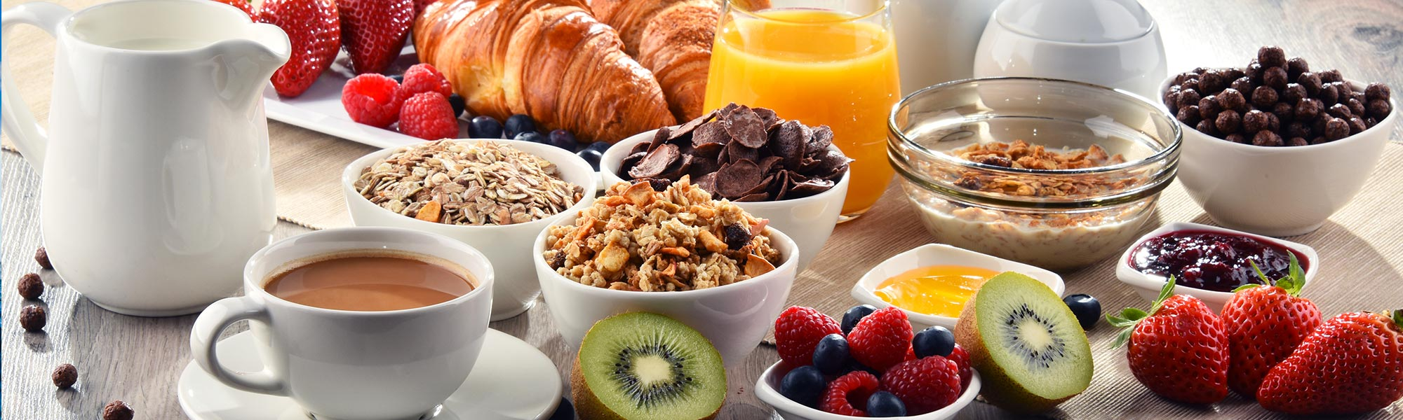 Breakfast Packages at Hotel E